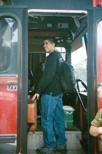 Omri Enlistment Bus